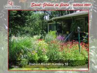 Saint-Jérôme en fleurs
